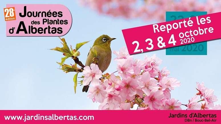 Aix & terra participe aux journées des plantes d'Albertas 2, 3 et 4 octobre 2020